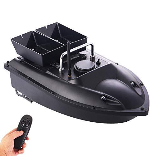 HXZB Smart Fishing Bait Boat, Dual Motor 500M Range Remote Control Fishing Feeder Toy RC Fishing Boats Fish Finder Ship Speedboat