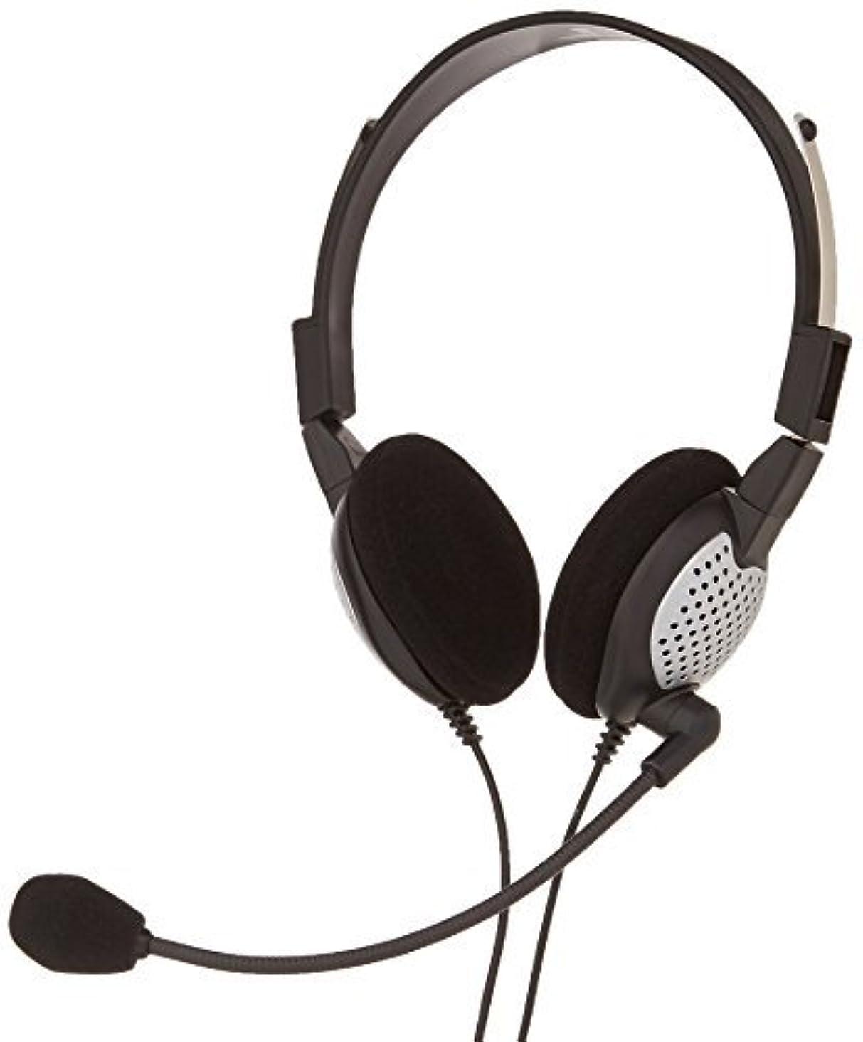 灰狂信者ほぼAndrea Electronics C1-1022600-1 model NC-185 VM USB High Fidelity Stereo USB Computer Headset with Noise Canceling Microphone and Volume/Mute Controls [並行輸入品]