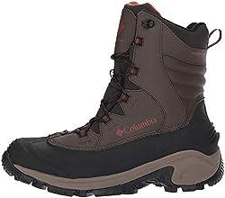 Columbia Men's Bugaboot II Snow Boot, Cordovan/Rusty, 10