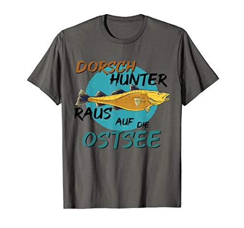 Dorsch raus auf die Ostsee Dorsch Hochseeangeln T-Shirt