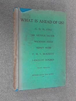 Hardcover What is Ahead of Us? Book