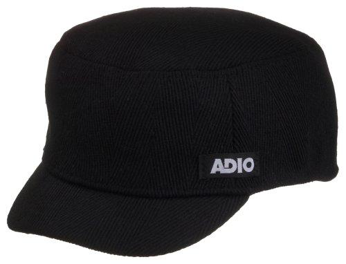 Adio Herren Cap A Vacant Customs Hat, Black, S/M