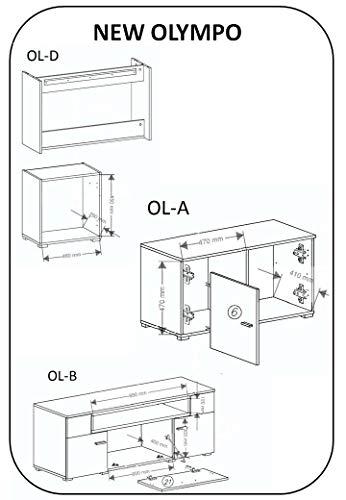 Wohnwand – Home innovation- Wohnmöbel Bild 5*