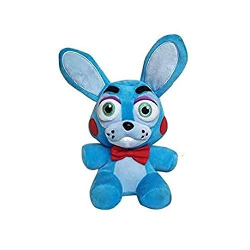 Five Nights at Freddy's Plush Toys Freddy Bear Bonnie Chica Foxy FNAF Stuffed Animal Doll Children's Gift Collection ByASfeixiang (Bonnie Rabbit)
