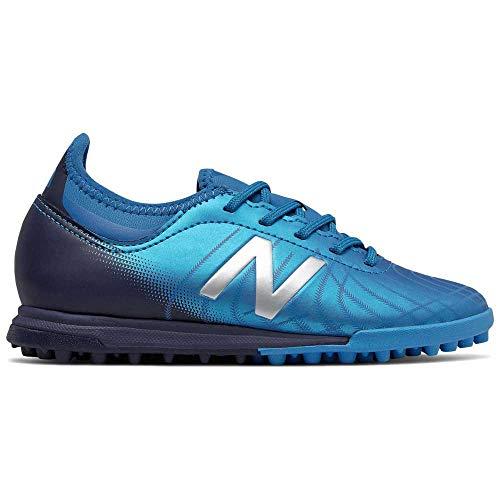 New Balance Tekela v2 Magique Turf Niño, Zapatilla de fútbol, Vision Blue, Talla 4 US (36 EU)