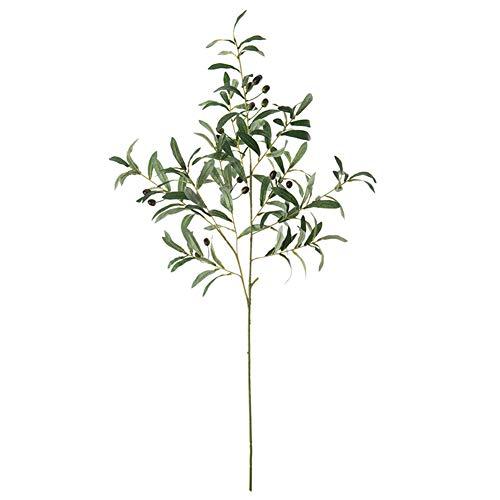 NAttnJf Planta Artificial 1Pc Artificial Rama de Olivo con Frutas Planta Falsa decoración del hogar Accesorios de fotografía