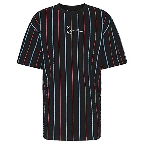 Karl Kani Camiseta Siganture Pinstripe - Algodón Hombre Talla: Large
