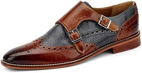Melvin /& Hamilton Herren Halbschuhe Schuhe braun Eddy8 106561 cognac
