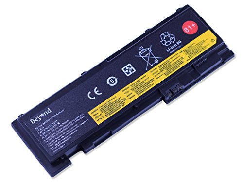 Replacement BEYOND Laptop Battery for LENOVO ThinkPad T420s T420si T430s Series, 0A36287 42T4844 42T4845 42T4846 42T4847 45N1036 45N1037 81+. [11.1V 4400mAh, 12 Months Warranty]