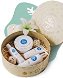 ALL-NATURAL AND PREGNANCY SAFE NEW MOM SPA SET; PERFECT PREGNANCY PAMPERING GIFTS - Our pregnancy gifts bump box has all the products a mom-to-be or new mom needs to pamper herself while she takes care of her new baby. Perfect new mom gift box or bab...