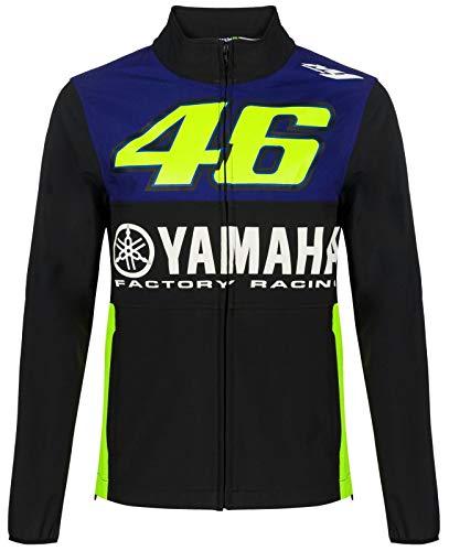 VR46 Yamaha Valentino Rossi Herren Softshell Jacke Royal, Größe: XXXL
