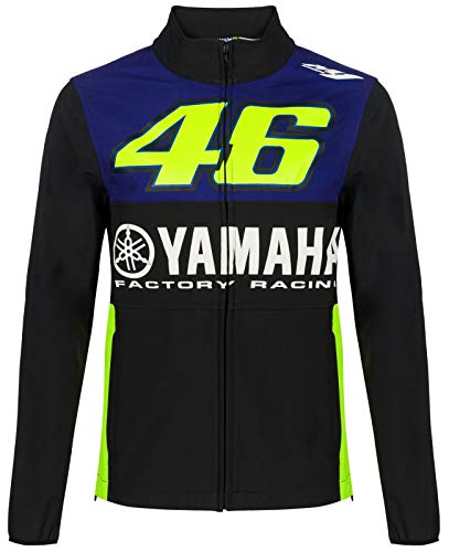 VR46 Yamaha Valentino Rossi Herren Softshell Jacke Royal, Größe: L