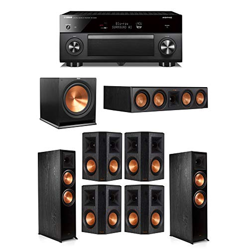 Amazing Deal Klipsch 7.1.2 System - 2 RP-8060FA Speakers,1 RP-504C,4 RP-502S Speakers,1 R-115SW,1 RX...
