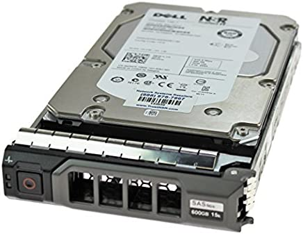 "Dell W347K 600GB 15K 16MB 6.0GBps 3.5"" Enterprise Class SAS Hard Drive in Poweredge R Series Tray"