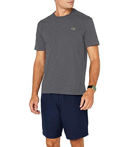 Lacoste - TH7618 - T-Shirt - Homme - Gris (Bitume 050)...