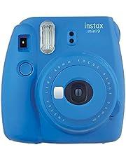 Fujifilm Instax Mini 9 Instant Film Camera, Cobalt Blue