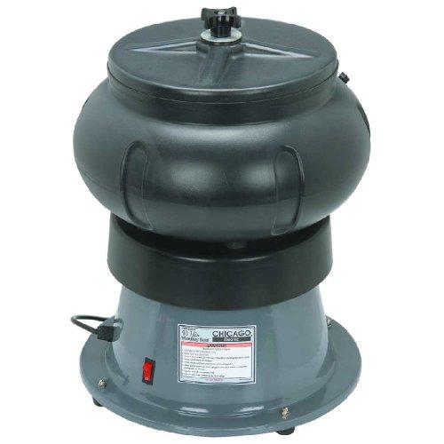 18 Lbs. Vibratory Tumbler Bowl with Liquid Drain Hose