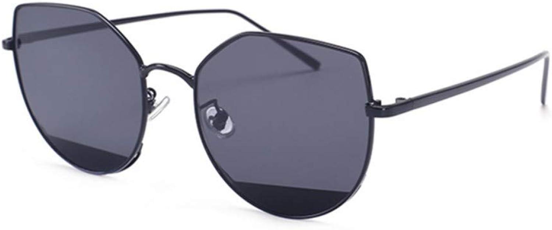 Fuqiuwei Sonnenbrillen Simple And Versatile Personality Retro Glasses Sunglasses Female Retro Sunglasses Female