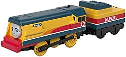 Motorized TrackMaster Gordon engine Redesigned TrackMaster engines feature enhanced speed and performance The perfect addition to your expandable, connectable, motorized Thomas & Friends TrackMaster world Motorized train play is compatible with most ...