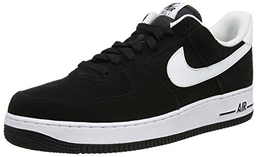 Nike Air Force 1 '07  Basketball Shoe ,Black,11 Men US