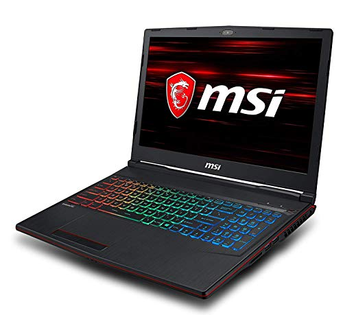 MSI GP63 Leopard 8RE-665XES - Ordenador portátil gaming 15.6