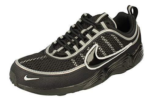 Nike Air Zoom Spiridon '16, Sneakers Basses Homme, Noir (Black/Wolf Grey 001), 40 EU