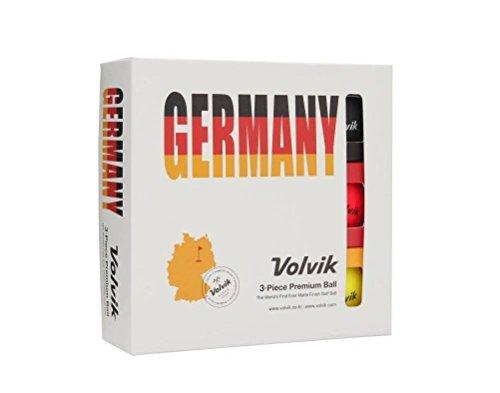 Volvik Deutschland Pack Matte GolfBälle Vivid 3-Piece ball