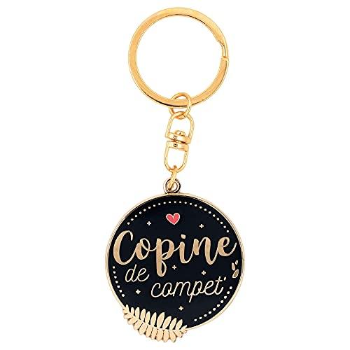 Porte clés Copine de compet    cadeau pour copine, meilleure amie, bff