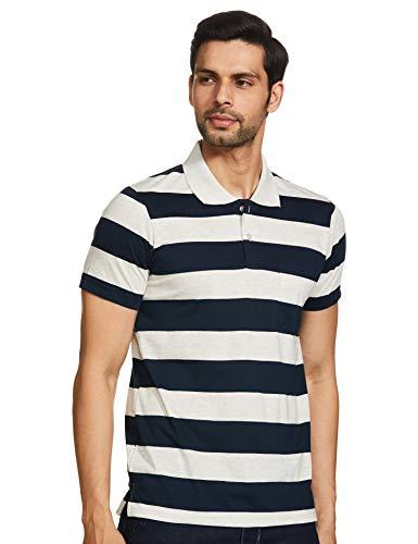 Cazibe Men's Striped Regular fit T-Shirt