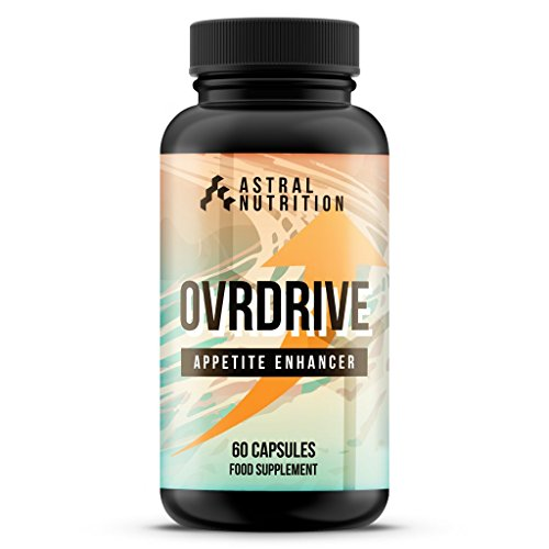 Ovrdrive Appetite Enhancer - 1 Month Supply | Max Strength Appetite Boosting Pills | Proven Natural...