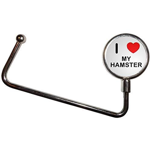 I Love My Hamster - Handtasche Tabelle Haken Kleiderbügel Taschenhalter