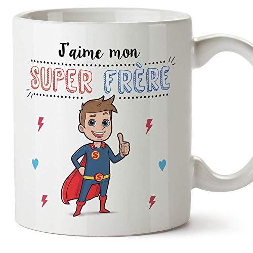 Le mug J'aime ma super sœur