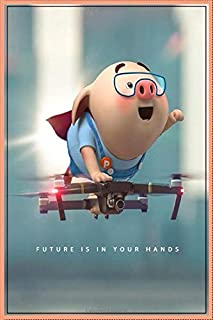 Future Is In Your Hands: Perfect Gift For Kids Age 4,5,6,7,8,9,10,11 and 12 Year Old Boys and Girls, Blank lined Notebook,...