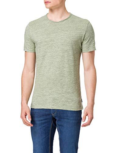 Only & Sons ONSALBERT Life New SS tee Noos Camiseta, Color Verde celadón, L para Hombre