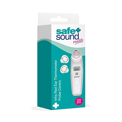 Safe and Sound Thermometer Probe Covers, 20 Pieces