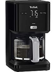 Tefal Smart'N Light CM6008 zwart koffiezetapparaat - Inhoud 1,25 l - Programmeer automatische start - Warmhoudfunctie