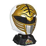 Power Rangers Réplica de casco Ranger Premium blanco