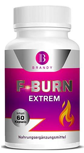 Brandy F Burn Extrem - Für Männer und Frauen, schnell - 2 Kapseln am Tag mit Garcinia Cambogia - 60 Kapseln