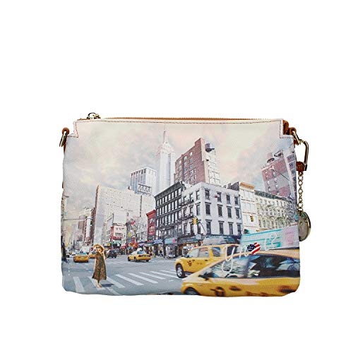 YNOT YES-399S0 TRACOLLA Donna STAMPA NEW YORK TU