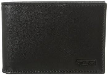 TUMI - Delta Slim Single Billfold Wallet with RFID ID Lock for Men - Black