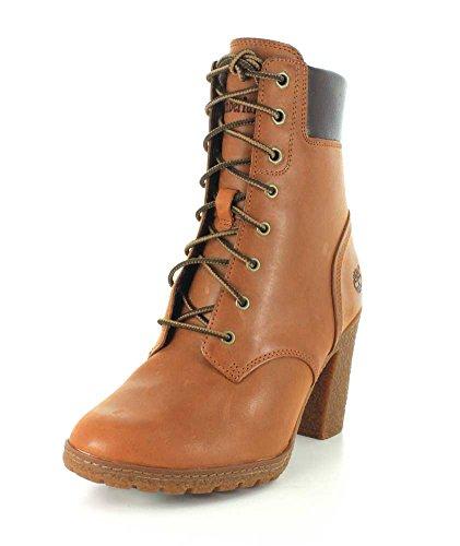 Timberland Glancy Damen-Stiefelette, 15,2 cm, Braun - weizenfarben - Größe: 41,5 EU