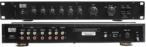 OSD Audio Pre-1 High Definition Preamplifier – Multi Source Select Phono Ready