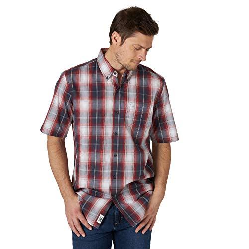 Wrangler Authentics - Camicia classica a maniche corte, da uomo - - XX-Large