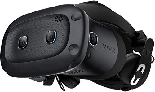 HTC VIVE Cosmos Elite Casque de Réalite virtuelle compatible Steam VR Bleu
