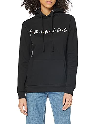 Friends Titles Capucha, Negro (Black Blk), 40 (Talla del Fabricante: Medium) para Mujer