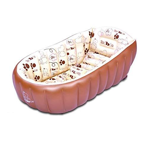 Luoshan InflatableHeat Portatile Mantenendo PVC vaschetta for Il Bagno Lavandino Vasca da Bagno casa, Tipo: Sfere di Vasca da Bagno + 10 Marine