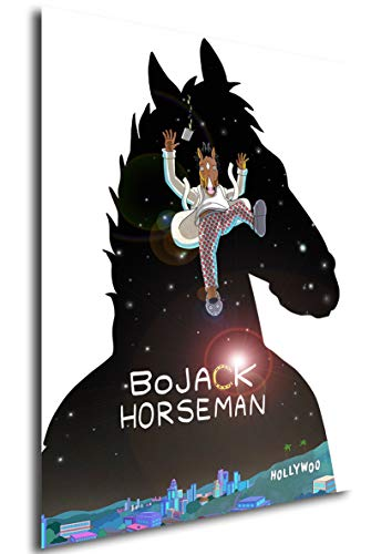 "Poster BoJack Horseman ""Landscape"" (B) - Formato A3 (42x30 cm)"