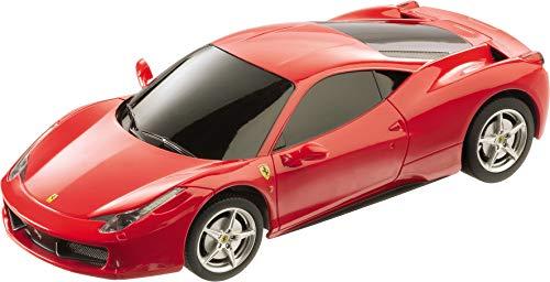 Mondo Motors Coche Radio Control Ferrari 458 Escala 1:24, Color Rojo (63121)