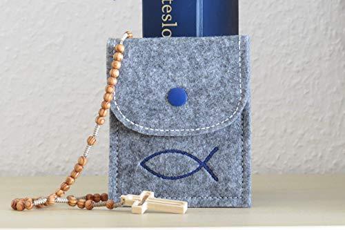 Rosenkranz - Tasche mit individueller Bestickung