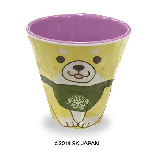 SK Japon Plastique Tasse Shiba Chien Jaune Violet 13702